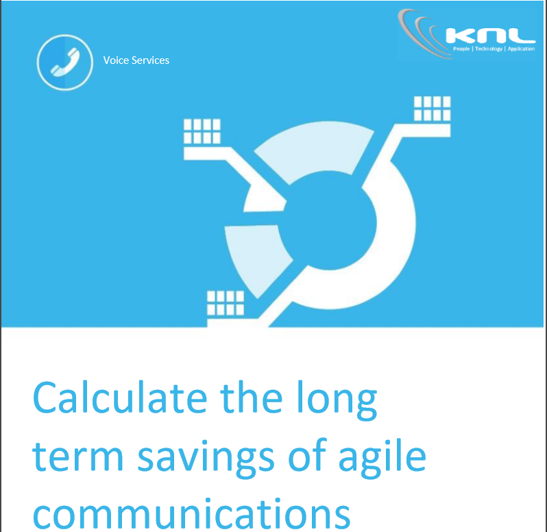 Calculate the long term savings of agile communications