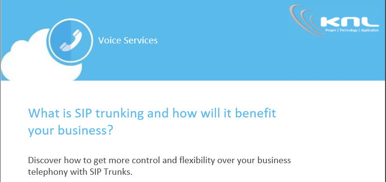 What is SIP Trunking and how will it benefit your business